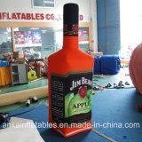 La botella inflable de la simulación comercial puede para la venta