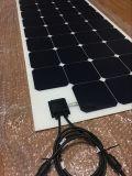 El mejor panel solar semi flexible de la venta 100W Sunpower con tecnología de ETFE