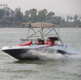 Fiberglas-Fischerboot