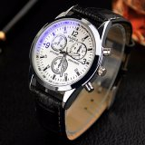 271 Yazole eindeutige Entwurfs-Verkaufsschlager-Uhr-Form-Mann-Armbanduhr