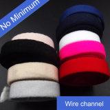 높은 Tenicity 가정 직물을%s 색깔에 의하여 뜨개질을 하는 고무 밴드 브래지어 결박