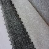 Polyester de 50% et interlignage fusible non-tissé en nylon de 50% pour le vêtement