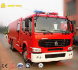 Camions de lutte contre l'incendie de réservoir d'eau de HOWO 6X4 20cbm