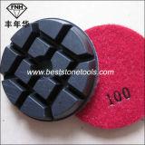 크롬 16 연약한 구체적인 다이아몬드 젖은 건조한 지면 가는 닦는 패드