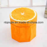 Venda quente! Tamborete Foldable redondo do armazenamento do projeto da fruta de quivi