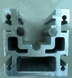 O perfil de alumínio para a indústria, Brown anodizou, a extrusão de alumínio