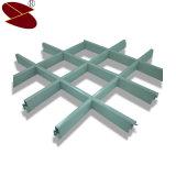 Techo de aluminio decorativo de la azotea de madera insonora de la mirada del precio de fábrica