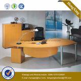 Structure métallique Silver Modesty Bureau de réception de réception de panneaux (NS-NW132)