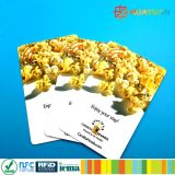 ホテルシステム13.56MHz MIFARE標準的な1K RFIDのkeycards