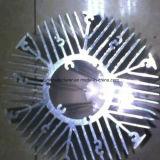 Disipador de calor de aluminio de aleación de extrusión de perfiles para puertas y ventanas