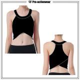 Верхняя часть бака йоги гимнастики одежды пригодности Sportswear женщин способа идущая