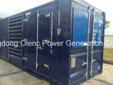 Gerador Soundproof do recipiente de Cummins 1000kVA