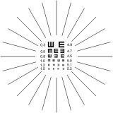 Refractómetro manual, refractómetro, autoprueba, prueba de la agudeza visual, prueba del astigmatismo