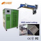 Plasma do CNC que corta o cortador Oxyhydrogen do plasma da máquina de estaca do gás