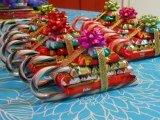 Proues d'étoile de bande de cadeau de fantaisie de Chaud-Vente de bonne qualité