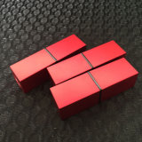 as/ABSの装飾的な包装のための正方形の口紅の管