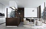顧客用木製の食器棚によって薄板にされる食器棚