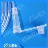 Extremidad consumible médica de Ryle del tubo de estómago del silicón