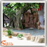 Décoration intérieure Plante artificielle artificielle Ficus Banyan Tree