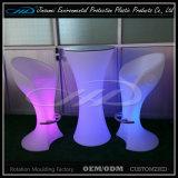 Mobilier LED à moulage par rotation pour les événements intérieurs ou extérieurs