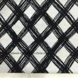 Sobretodo de la tela de las lanas de la verificación del bosquejo