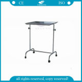 AG-Ss029 Material ajustable en altura de acero inoxidable Mayos Instrument Trolley