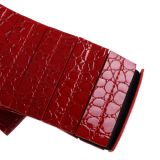 Red Bow PU Leather Elastic Ladies Belts (RS12004)