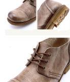 Chaussures rondes de Leathe d'hommes de tep de mode (NX 439)