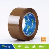 48 bande adhésive de cachetage de carton de la couleur BOPP de MIC Brown pour l'usage de empaquetage