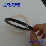Kundenspezifische weiße und schwarze rechteckige Gummidichtungsringe