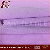 Tissu solide de polyester d'Elastane de polyester en gros du sergé 100