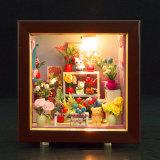 Casa de boneca de madeira dos brinquedos das crianças novas do estilo