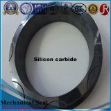 Anello di chiusura meccanico di ceramica nero del carburo di silicone per la pompa ad acqua
