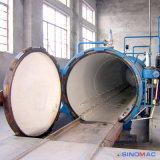 autoclave de borracha de Vulcanizating da mangueira do aquecimento elétrico aprovado de 800X1500mm ASME