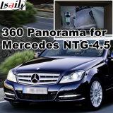Hintere Ansicht-u. des Panorama-360 Schnittstelle für MERCEDES-BENZ mit Ntg-4.5 Signaleingang-Form-Bildschirm des Systems-Lvds RGB
