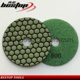 Высокое качество пусковая площадка 5 дюймов сухая используемая мраморный каменная полируя