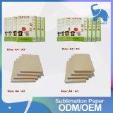 Carta da trasporto termico termica di stampa del getto di inchiostro di alta qualità del rifornimento della fabbrica