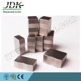 Segmento do diamante da forma do JDK M para a estaca do granito