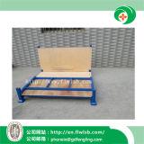 Acero-Madera plegable modificada para requisitos particulares que empila el estante de Forklift con la aprobación del Ce