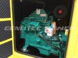 комплект генератора генератора 50kVA 40kw Cummins звукоизоляционный тепловозный (GPC50S)
