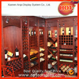 Présentoir en bois de vin