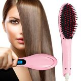Enderezadora eléctrica del pelo del cepillo