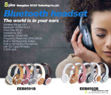 Función de cancelación de ruido auriculares NFC de estilo cinta sin hilos plegable de Bluetooth