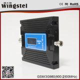 De dubbele GSM WCDMA van de Band 2g 3G 4G Spanningsverhoger van het Signaal van de Aanwinst Regelbare Mobiele
