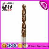 Jinooの固体金属の穴あけ工具のための炭化物によってひっくり返される穴あけ工具