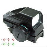 Vista holográfica do PONTO do Reticle vermelho reflexo tático novo do verde 4