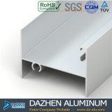 Profiel van het Aluminium van de Schuifdeur van het Aluminium van de Verkoop van de fabriek het Directe met Witte Geel van de Laag van het Poeder
