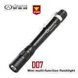 Los doctores Use linterna portable al aire libre de la pluma ligera una pequeña LED de Waterpro LED de la mini antorcha Pocket de Flashlightof