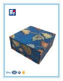 주문을 받아서 만들어진 로고 인쇄를 가진 호화스러운 서류상 엄밀한 선물 상자