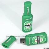 Estilo plano de encargo del USB palillo de memoria Flash (140)